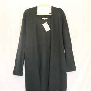 Medium weight cardigan sweater